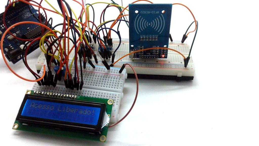 Montagem RFID com arduino
