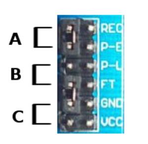 Detalhe do conector ISD 1820