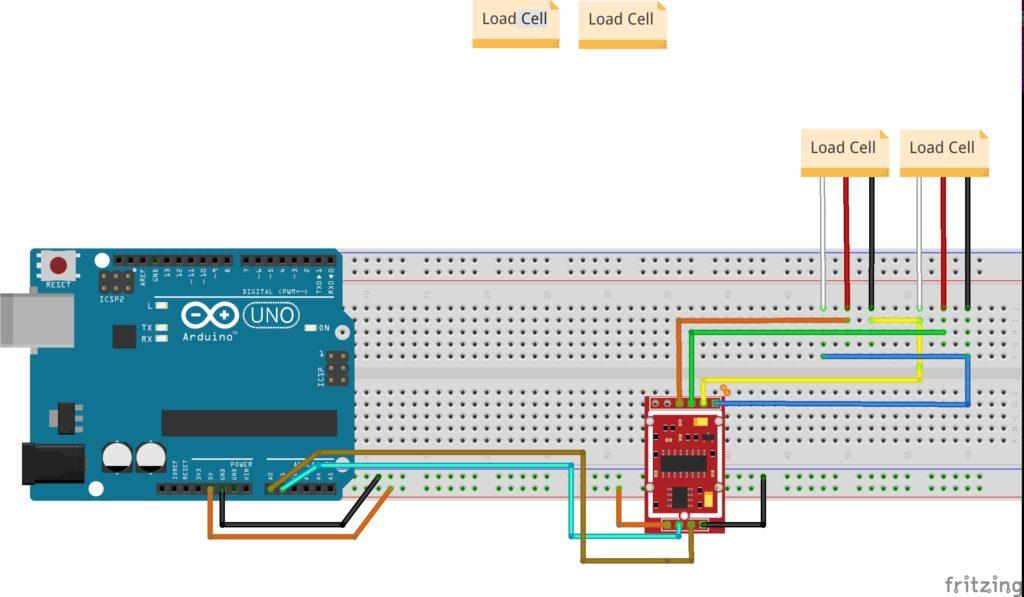 Celula de carga com Arduino