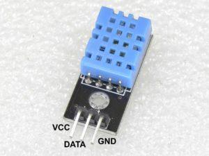 Modulo Sensor DHT11 - pinout