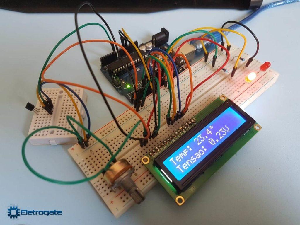 Medidor de temperatura com Arduino