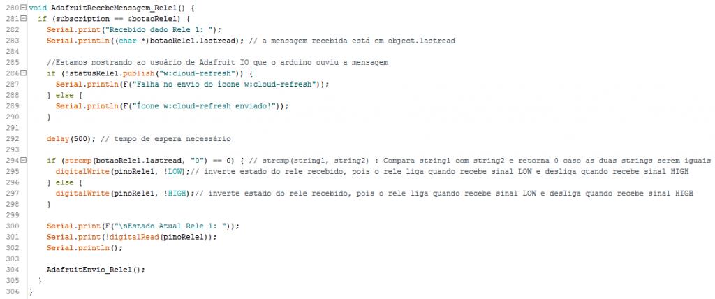 Código explicado passo a passo