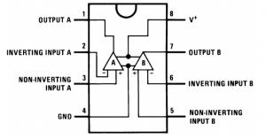 Esquema interno do LM358