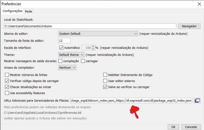 Blog-Eletrogate-Arduino-IDE-ESP32