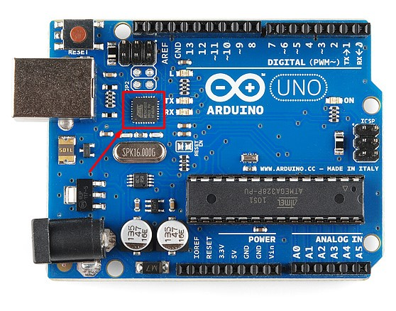 Arduino Uno - Atmega16U2